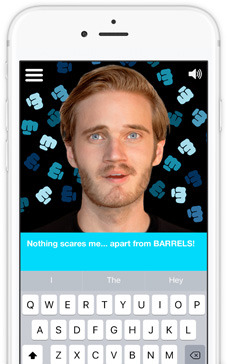 Pewdiebot phone screenshot 1